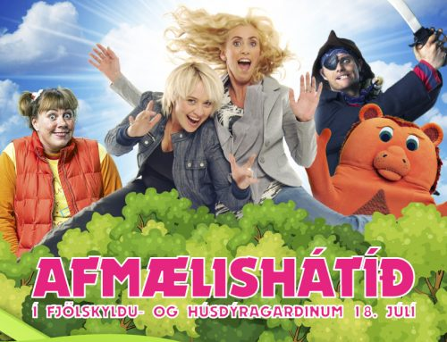 Afmælishátíð í Fjölskyldu- og húsdýragarðinum 18. júlí